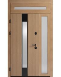 Двустворчатая дверь Standart 2 со стеклопакетом