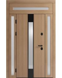 Двустворчатая дверь Standart 3 со стеклопакетом
