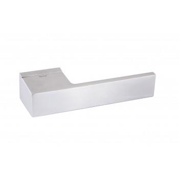 Комплект дверных ручек Icon C02 хром сатин