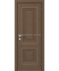 Межкомнатная дверь Versal Esmi, Орех классический - фото №2