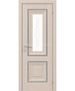 Межкомнатная дверь Versal Esmi, Беленый дуб - фото №1
