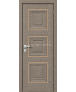 Межкомнатная дверь Versal Irida, Серый дуб - фото №1