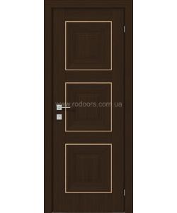 Межкомнатная дверь Versal Irida, Орех борнео - фото №4