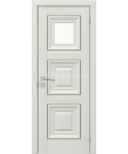 Межкомнатная дверь Versal Irida, Сосна крем - фото №5