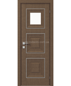 Межкомнатная дверь Versal Irida, Орех классический - фото №1