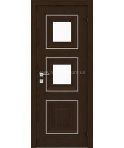 Межкомнатная дверь Versal Irida, Орех борнео - фото №5