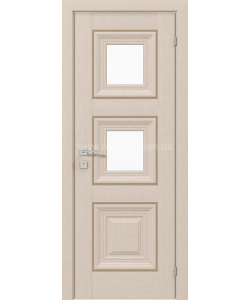 Межкомнатная дверь Versal Irida, Беленый дуб - фото №1
