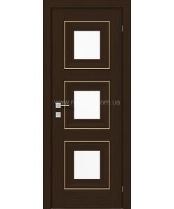 Межкомнатная дверь Versal Irida, Орех борнео - фото №2