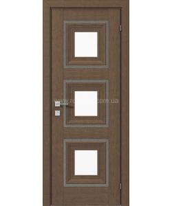 Межкомнатная дверь Versal Irida, Орех классический - фото №2