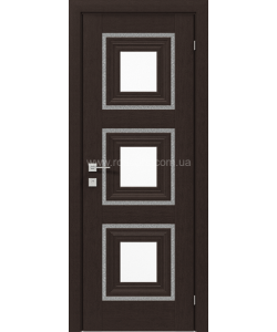 Межкомнатная дверь Versal Irida, Венге маро - фото №1