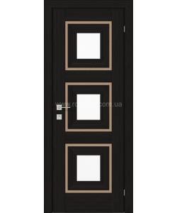 Межкомнатная дверь Versal Irida, Венге шоколадный - фото №3